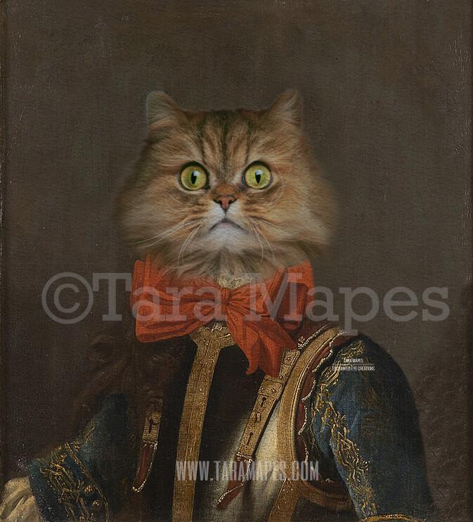 Pet Portrait Body - Layered PSD Template- Pet Painting Portrait Body 75 -  Digital Background Backdrop
