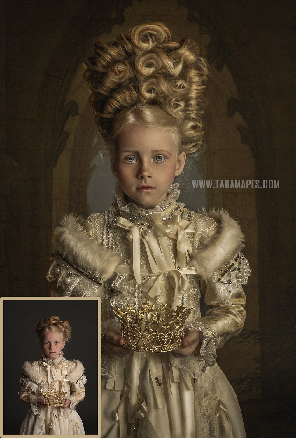 The Princess Painterly Editing + Compositing Photoshop Tutorial with STARTER PACK- Fine Art Tutorial by Tara Mapes