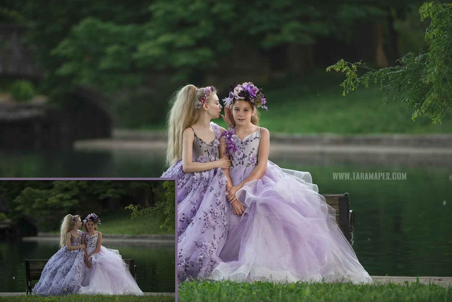 Violet Secrets Photoshop Edit Tutorial by Tara Mapes