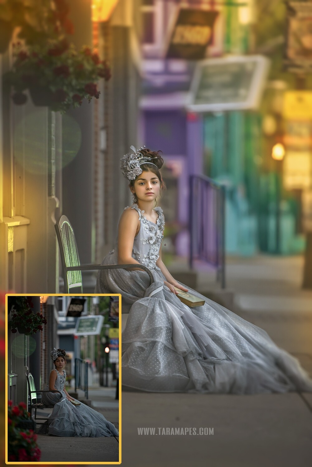 Liv in the City - Painterly Photoshop Tutorial TUTORIAL ONLY- Fine Art Tutorial by Tara Mapes
