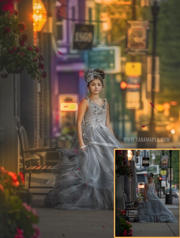Calm Before the Storm Painterly Photoshop Tutorial with STARTER PACK- Fine Art Tutorial by Tara Mapes