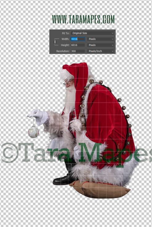 Santa Overlay PNG - Santa Overlay - Santa Clip Art - Santa Cut Out  - Christmas Overlay - Santa PNG - Christmas Overlay