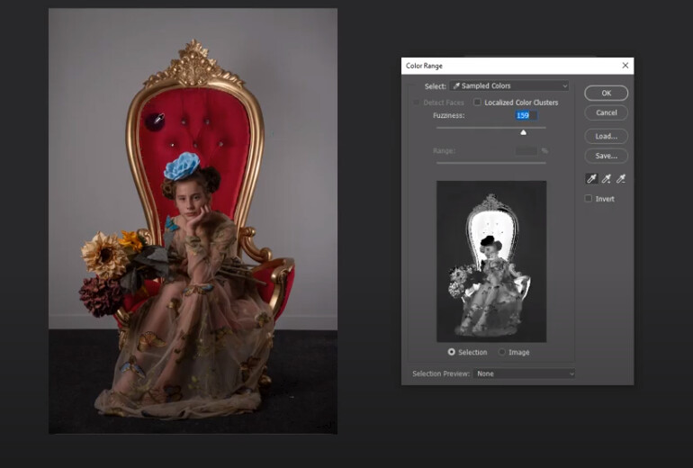 Free Photoshop Tutorial: Using Color Select to Isolate and Change Colors in Photosop