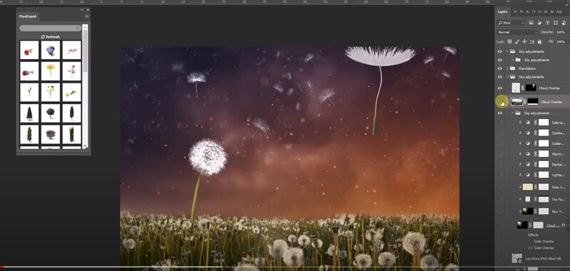 Free Photoshop Tutorial: How to blend two images together in Photoshop