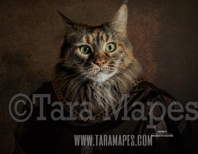 Pet Portrait Monarch Body 1 PSD Template - Pet Painting Portrait Body -  Layered PSD  Digital Background Backdrop