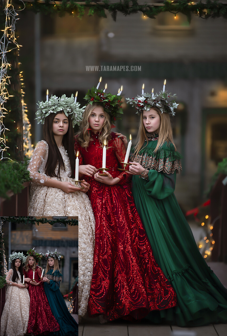 The Carolers - Painterly Photoshop Tutorial TUTORIAL ONLY- Fine Art Tutorial by Tara Mapes