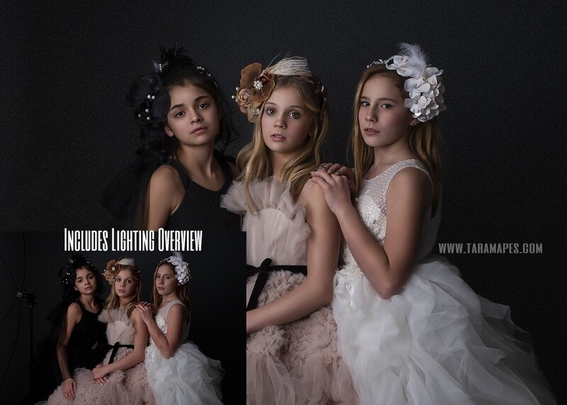 Drama- Painterly Photoshop Tutorial TUTORIAL ONLY- Fine Art Tutorial by Tara Mapes
