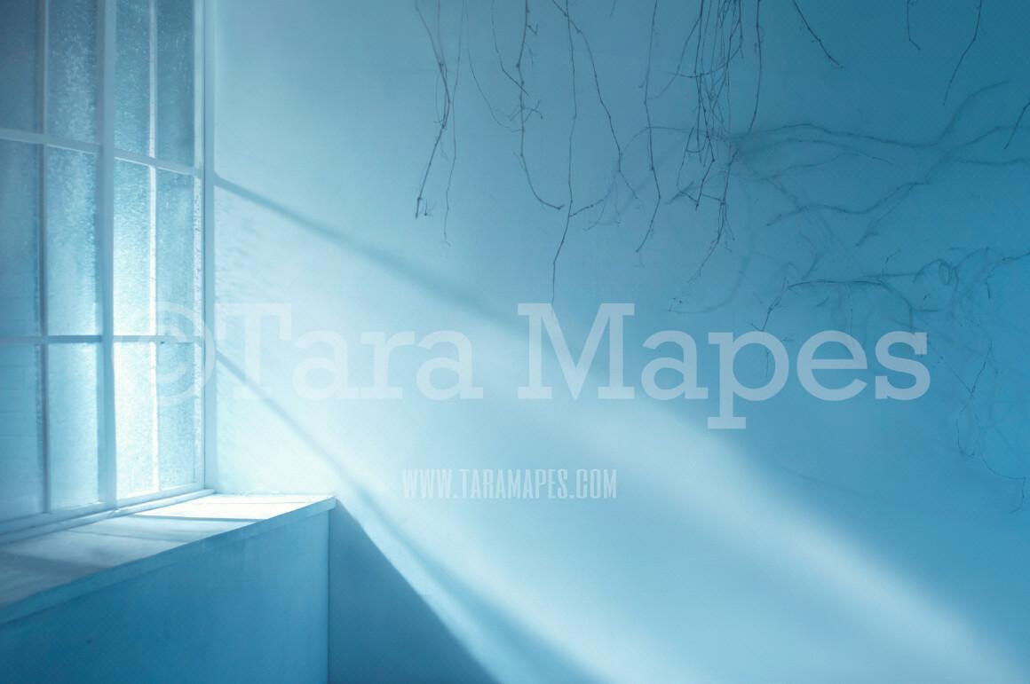 Underwater Room - Mermaid Room Digital Background Backdrop