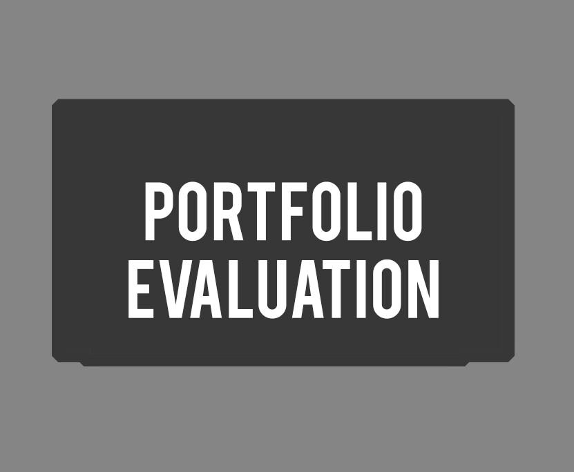 Mentoring: 3 Image Portfolio Evaluation