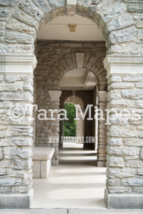 Castle Arch- JPG file - Photoshop Digital Background / Backdrop