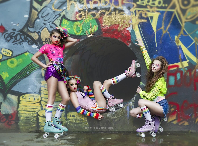 Graffiti Digital Background - Pipe in Graffiti Wall- JPG file - Photoshop Digital Background / Backdrop
