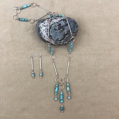 Jasper Necklace & Earring Set