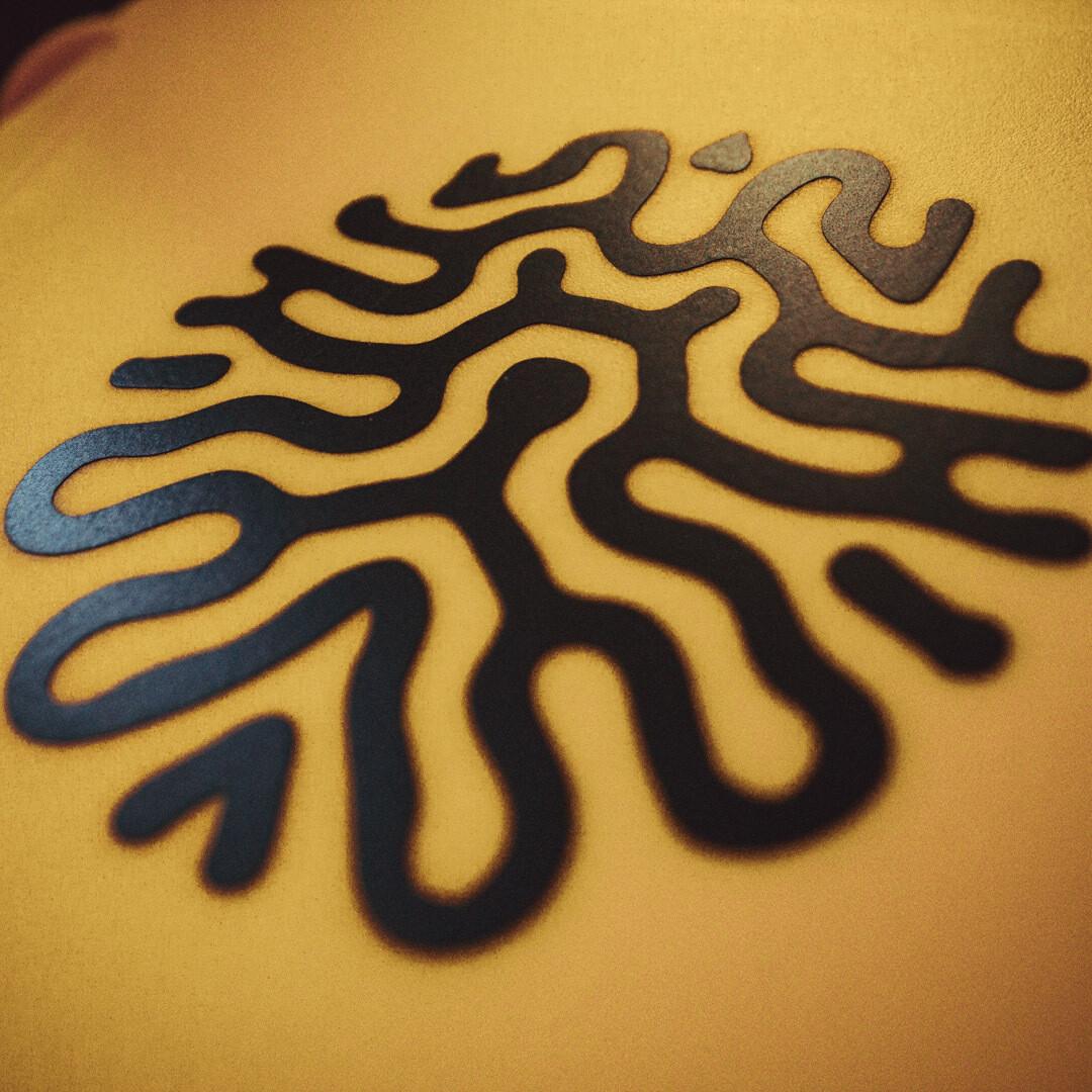 Matte black -Solid Vinyl sticker