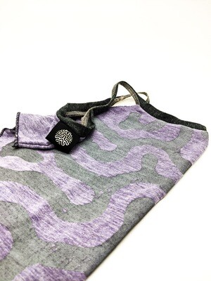 Gypsy masks gray+purple