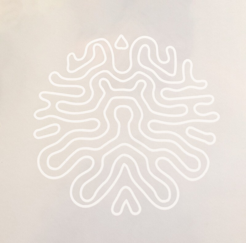 Matte white -Silhouette Vinyl sticker