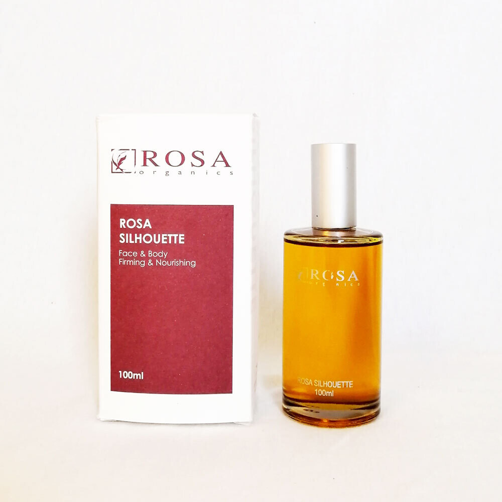 Rosa Silhouette - Moisturing and Firming, for Face and Body
