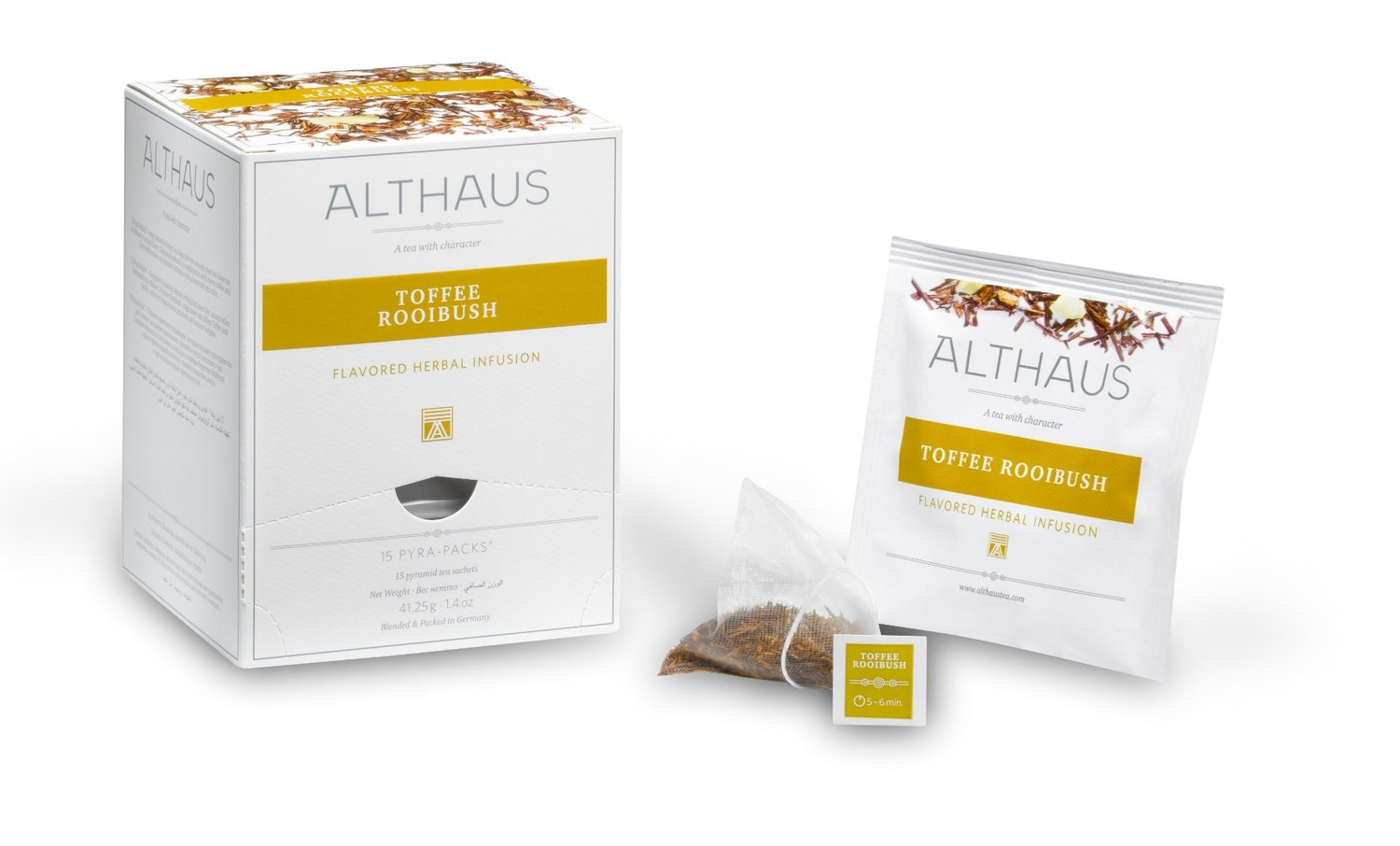 Althaus Pyra Pack Toffee Rooibush