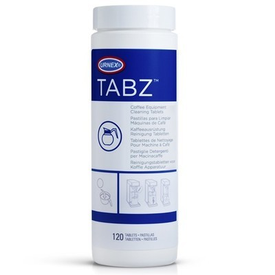 Urnex Tabz kahvikeittimen 120 puhdistustabletteja