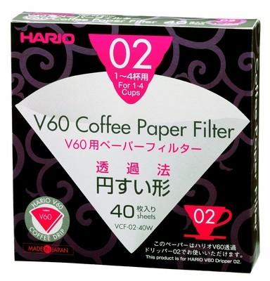 Hario suodatinpaperi V60 koko 02