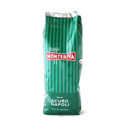 Monteriva Scuro Napoli espresso, papu 0,5 kg