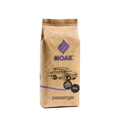 Moak Passenger dark roast suodatinkahvi, papu 1 kg