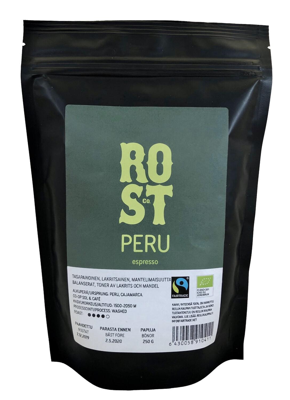 ROST & Co. Peru espresso 250 g