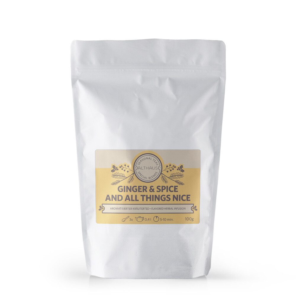 Althaus Ginger and Spice 100g