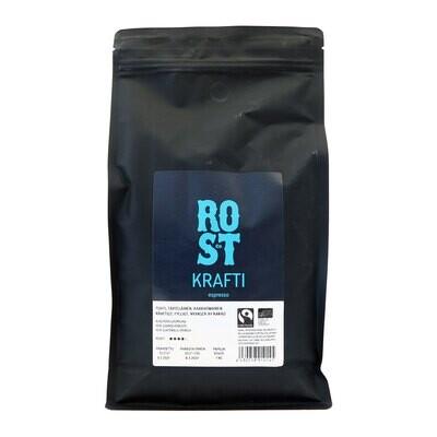 ROST & Co. Krafti espresso papu 1 Kg