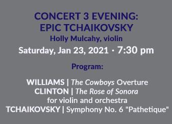 Epic Tchaikovsky Evening