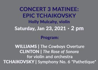 Epic Tchaikovsky Matinee