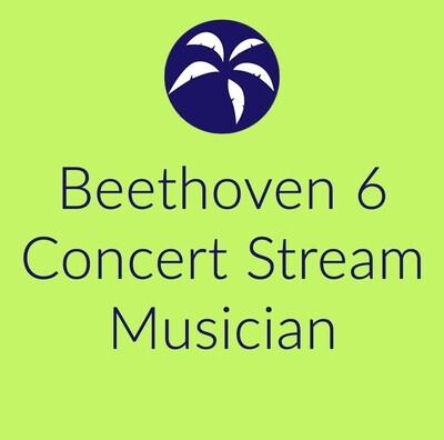 Beethoven 6 concert stream musician