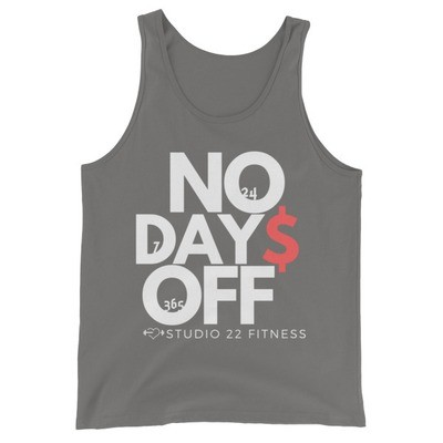 No Days Off 24/7/365 Tank Top