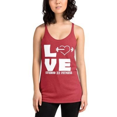 LOVE Women's Racerback Tank