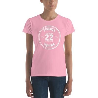 STRONGER TOGETHER; Women's short sleeve t-shirt