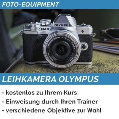 Olympus OM-D Leihkamera (Mobil)