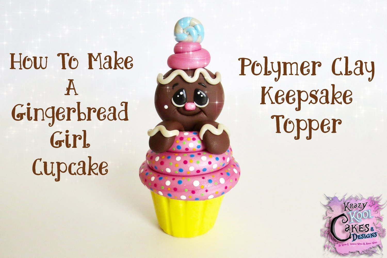Gingerbread Girl Cupcake: FREE PDF (Tools & Materials/Helpful Tips)