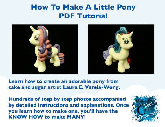 How To Make A Little Pony PDF Tutorial