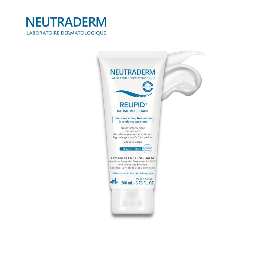 NEUTRADERM ლიპიდების აღმდგენი კრემი ატოპიური კანისთვის