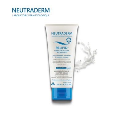 NEUTRADERM RELIPID+ დასაბანი კრემი ატოპიური კანისთვის