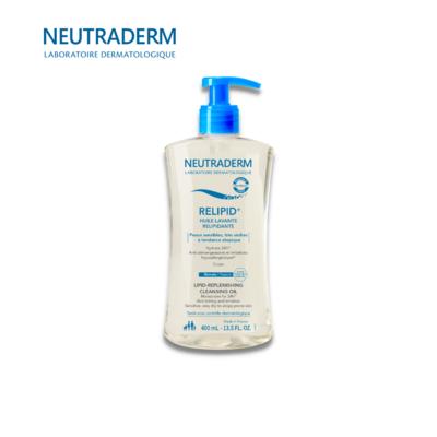 NEUTRADERM RELIPID+ დასაბანი ზეთი ატოპიური კანისთვის