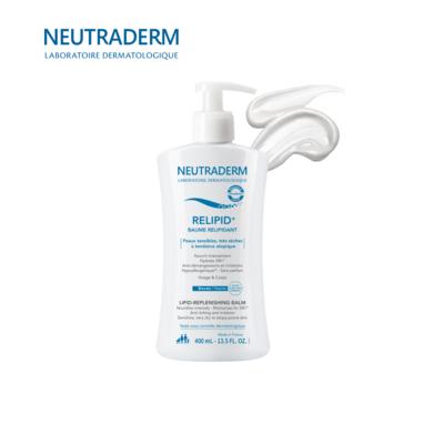 NEUTRADERM ლიპიდების აღმდგენი კრემი ატოპიური კანისთვის სახე&ტანი 400 მლ.