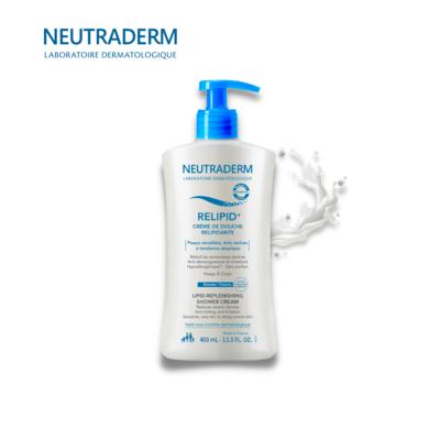 NEUTRADERM RELIPID+ დასაბანი კრემი ატოპიური კანისთვის 400მლ.