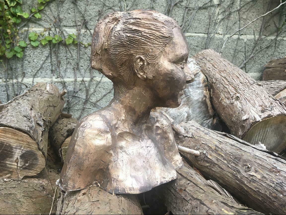 Danaid Hippodamia - Bronze