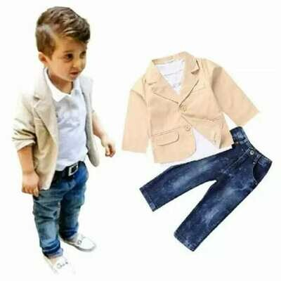 Boys Three Piece Outfit