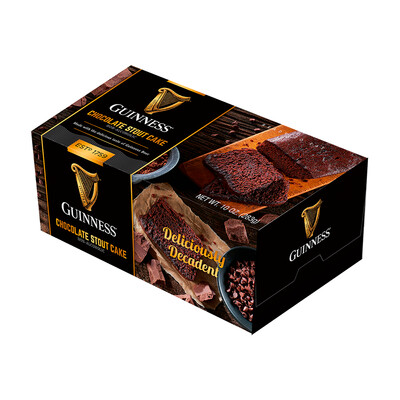 Guinness 10 oz Chocolate Stout Loaf Cake- 2 pack