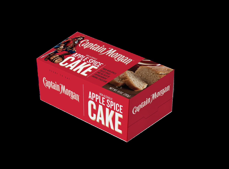 Captain Morgan 10 oz Apple Spice Loaf Cake- 2 pack