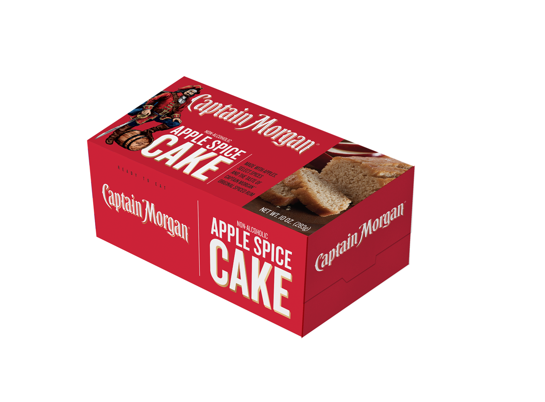 Captain Morgan 10 oz Apple Spice Loaf Cake
