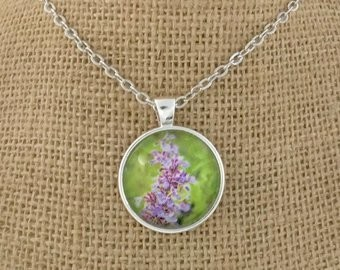 SCOTTISH GARDEN Photo Pendant Necklace
