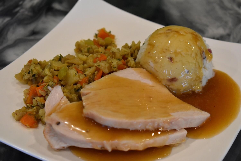 Hand Carved Turkey Dinner