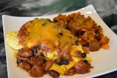 Smokehouse Omelet